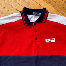 Load image into Gallery viewer, Bootleg Polo RL Polo Sport Color Block LS Polo