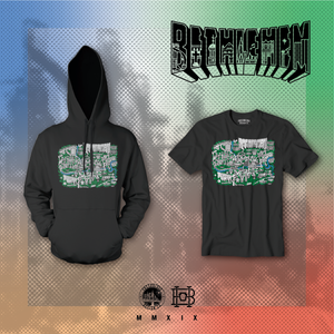 The Bethlehem Map Pullover Hoodie