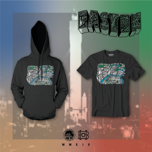 The Easton Map Pullover Hoodie