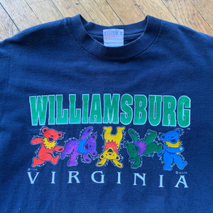 Grateful Dead Williamsburg, VA '95 Dancing Bears T-Shirt