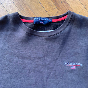Polo Sport Embroidered Logo Crewneck