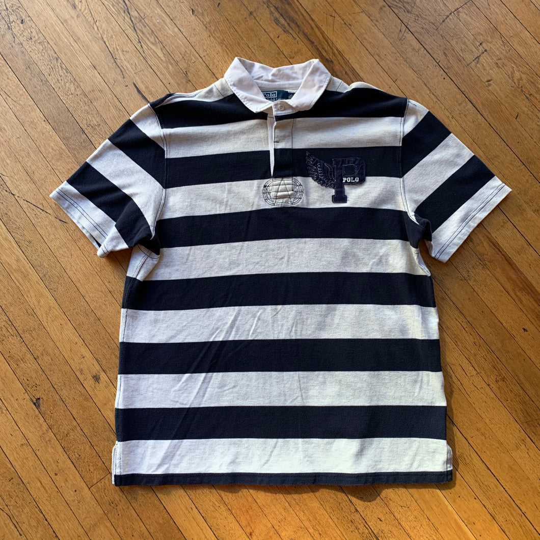 Polo RL P-Wing Bold Striped Polo