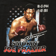 Load image into Gallery viewer, Smokin' Joe Frazier Boxing Memorial T-Shirt