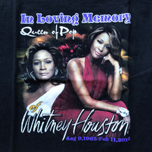 Load image into Gallery viewer, Whitney Houston Double-Sided Tribute T-Shirt