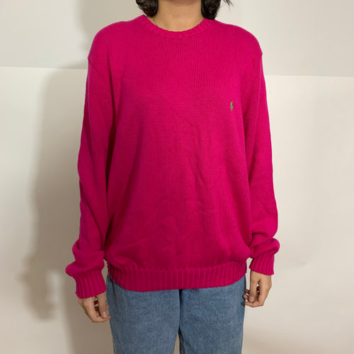 Polo RL Classic Solid Knit Sweater