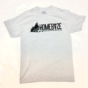 Steel Logo T-shirt Grey
