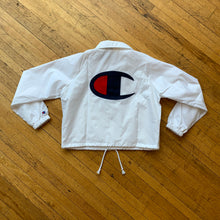Load image into Gallery viewer, Champion Cropped Coaches Jacket