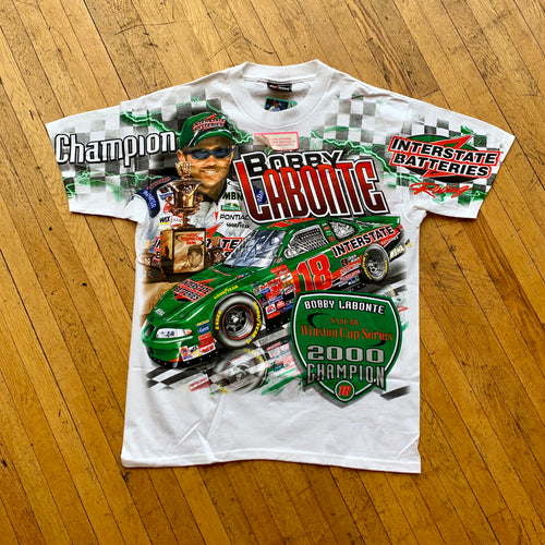 NASCAR Bobby Labonte Double Sided T-Shirt