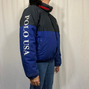 Polo RL Cookie Patch Puffer Coat