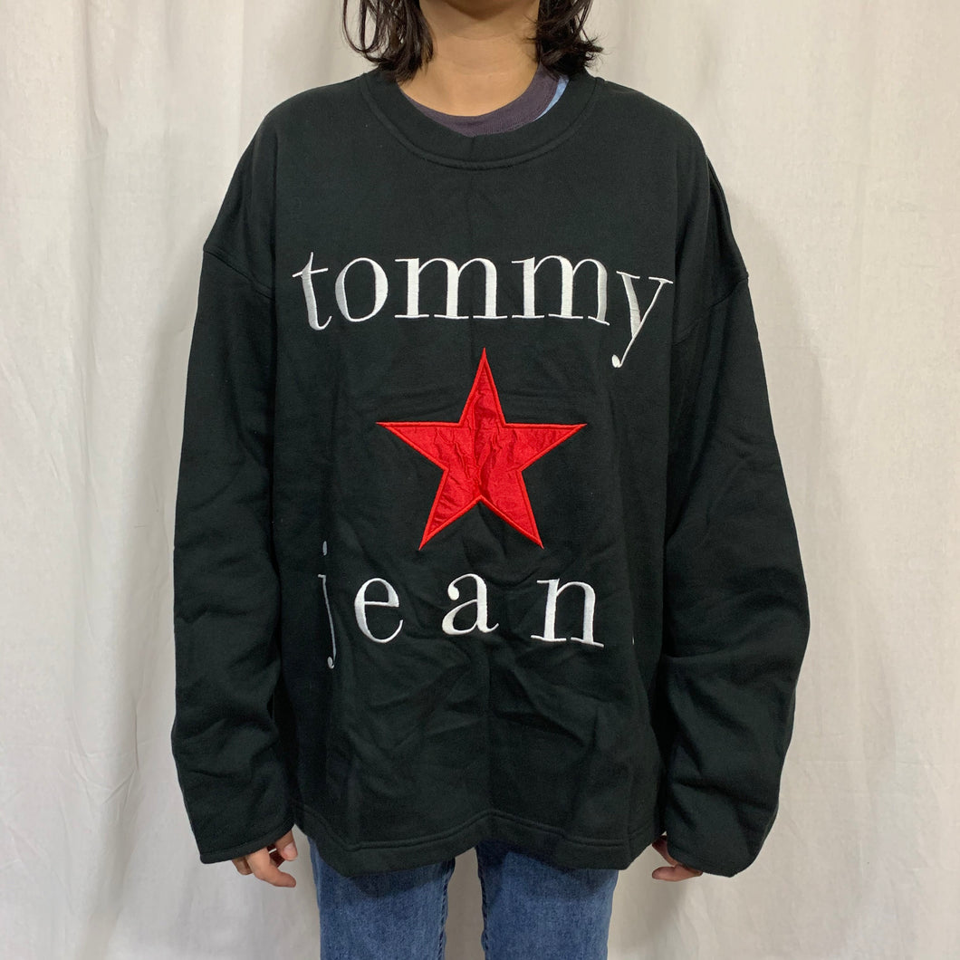 Tommy Jeans Enlarged Logo Crewneck