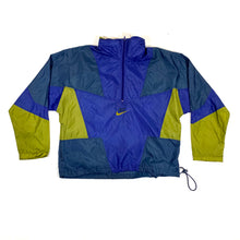 Load image into Gallery viewer, Nike Grey Tag Color Block 1/2 Zip Pullover WIndbreaker