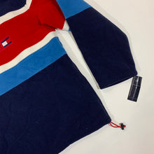 Load image into Gallery viewer, Tommy Hilfiger Striped 1/4 Zip Fleece Pullover