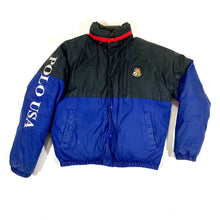 Load image into Gallery viewer, Polo RL Cookie Patch Puffer Coat