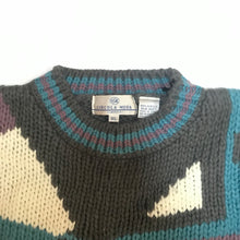 Load image into Gallery viewer, Circola Moda Abstract Knit Sweater