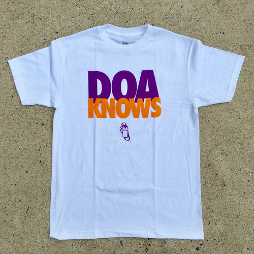 DOA Knows T-shirt