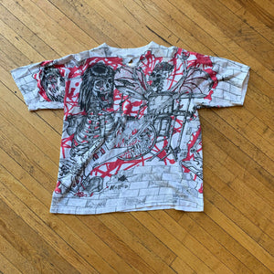 Morbid Rags Allover Print Single Stitch T-Shirt