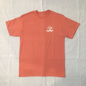 Skate Heart T-Shirt / Terracotta