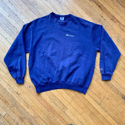 Champion Solid Washed Crewneck