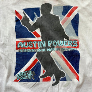 Austin Powers Man Of Mystery Single Stitch T-Shirt