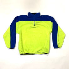 Load image into Gallery viewer, Nautica Competition Split Color 1/2 Zip Fleece Pullover