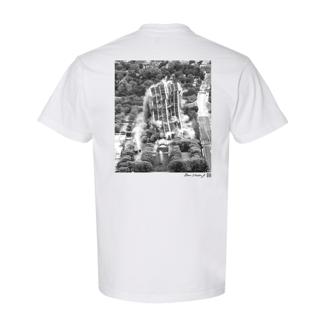 Martin Tower Implosion T-Shirt