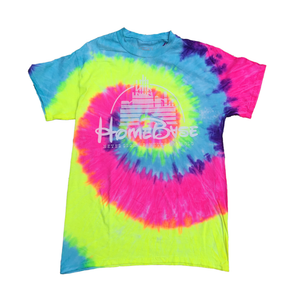 Magic Castle Neon Swirl T-Shirt