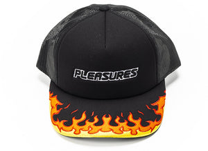 Burn Trucker Snapback Hat