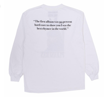 Load image into Gallery viewer, Beware LS T-Shirt / White