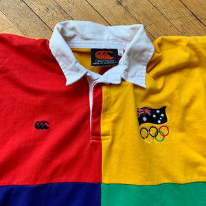 Australia Flag Olympics Color Block Rugby