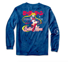Load image into Gallery viewer, Sailor Moon Washed LS T-Shirt