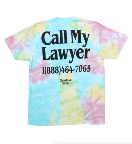 Lawyer Tie Dye T-Shirt