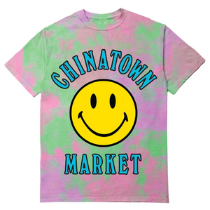 Smiley Multi Tie Dye T-Shirt