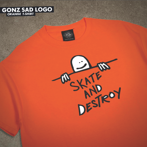 GONZ Sad Logo T-Shirt