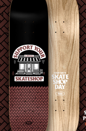 Real Skate Shop Day Deck 8.25