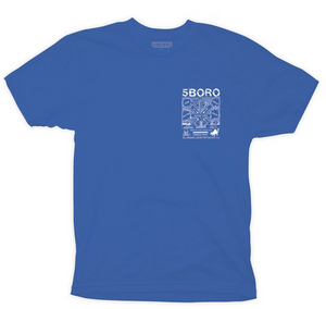 Lucky NY T-Shirt Blue