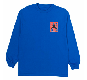Stats LS T-Shirt / Royal