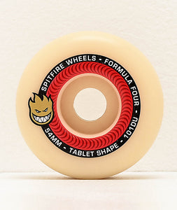 Spitfire Formula Four 101a 53mm Tablets Natural Wheels