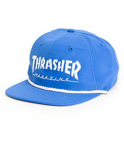 Thrasher Rope Hat Blue