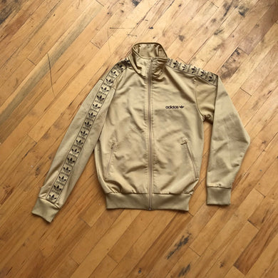 90's Adidas Trefoil Taped Track Jacket