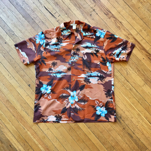 Vintage 60's-70's Made in Hawaii Button Down