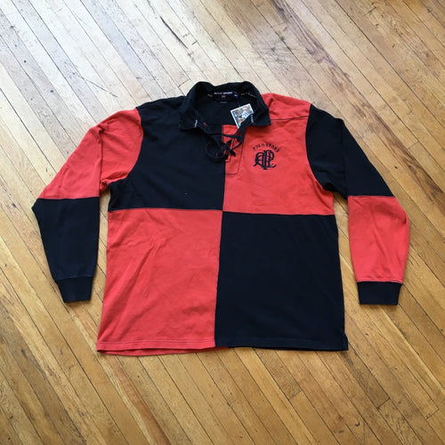 Polo Sport Color Block #16 Patch Rugby