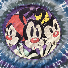 Load image into Gallery viewer, The Animaniacs 1994 Tie Dye T-Shirt