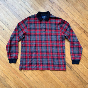 Polo Sport Plaid Longsleeve Polo