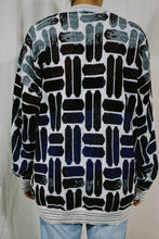 Load image into Gallery viewer, Megalos Abstract Oval Knit Sweater