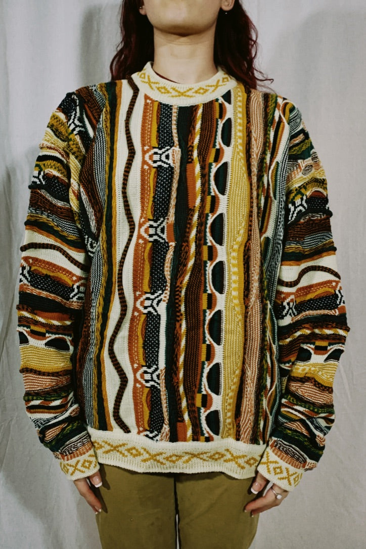 Baucci Faux Coogi Sweater