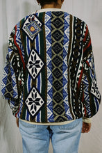 Load image into Gallery viewer, Chaps RL NWT Abstract Knit Sweater