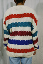 Load image into Gallery viewer, Jantzen Bold Stripe Knit Sweater