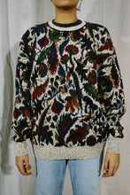 Load image into Gallery viewer, Crossings NWT Abstract Knit Sweater