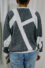 Load image into Gallery viewer, Claibourne NWT Abstract Knit Sweater