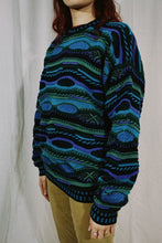 Load image into Gallery viewer, Protege NWT Faux Coogi Sweater